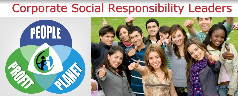 Corporate Social Responsibility Leaders